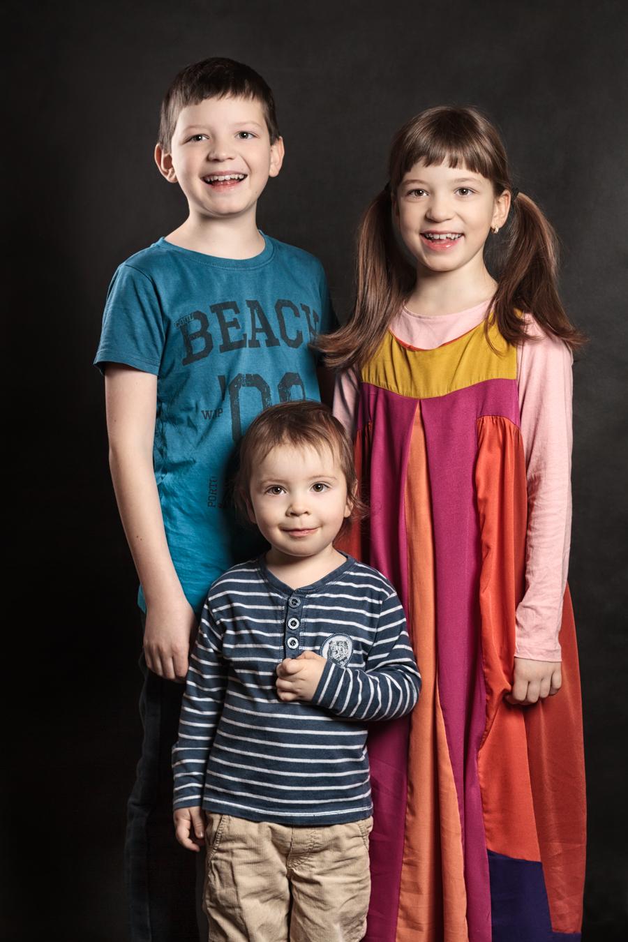 Jan Zeman profesionální portrétní fotograf Praha rodinný portrét